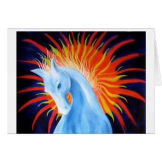 Spirit Horse Greetings Card