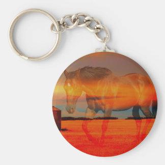 Spirit Horse Keychain
