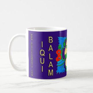 SPIRIT IQUI BALAM- MIDNIGHT BLUE- MAYAN RIVIERA COFFEE MUG