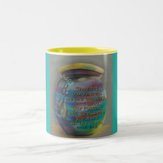 Spirit Jar - Potter and Clay Two-Tone Coffee Mug