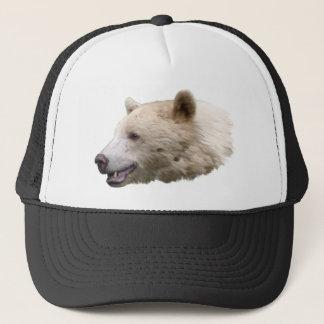Spirit Kermode Bear Wildlife Art Trucker Cap