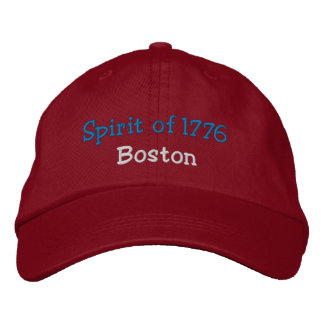 Spirit of 1776 Boston Embroidered Hat