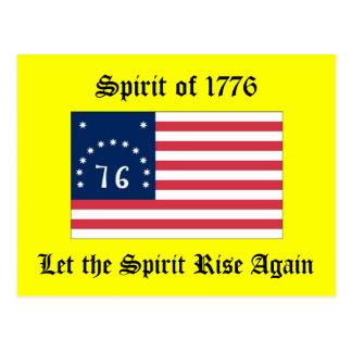 Spirit of 1776 postcard