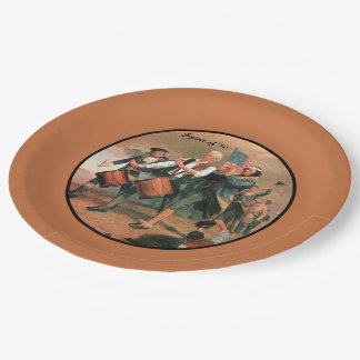 Spirit of '76 9 inch paper plate