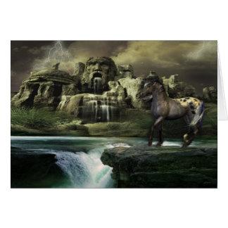 Spirit of a Wild Horse Card