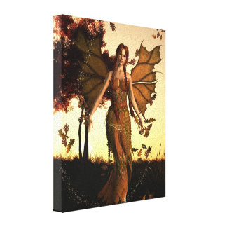 Spirit of Autumn Canvas Print