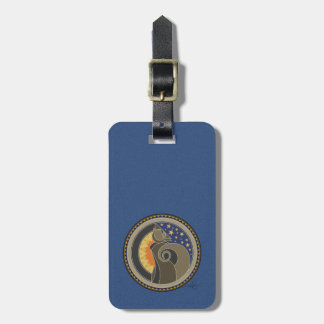 Spirit Of Coyote Luggage Tag