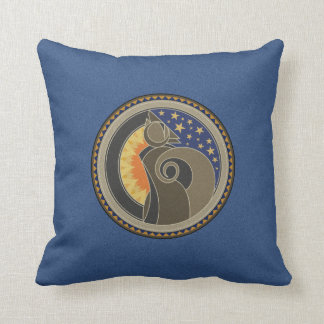 Spirit Of Coyote Throw Pillow