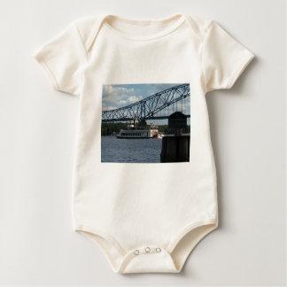 Spirit of Dubuque on Mississippi River Baby Bodysuit