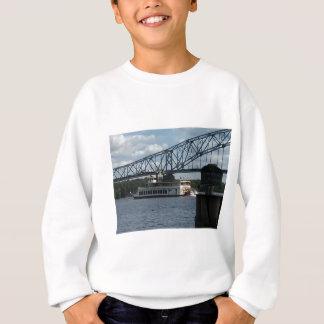 Spirit of Dubuque on Mississippi River Sweatshirt