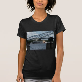 Spirit of Dubuque on Mississippi River T-Shirt