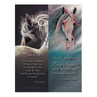 Spirit of Horse Bookmarks Postcard