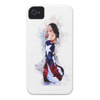 Spirit of Puerto Rico iPhone 4 Case-Mate Case