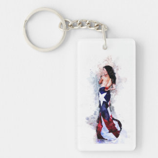 Spirit of Puerto Rico Keychain
