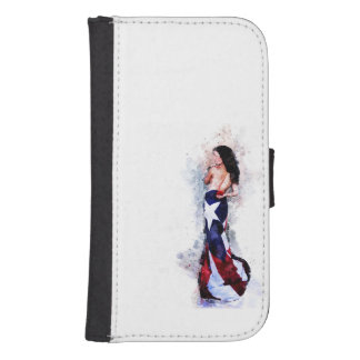 Spirit of Puerto Rico Samsung S4 Wallet Case