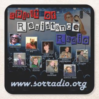 Spirit of Resistance Radio Drink Coaster
