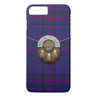 Spirit Of Scotland Tartan And Sporran iPhone 8 Plus/7 Plus Case