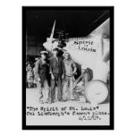 Spirit of St. Louis Airplane 1927 Poster