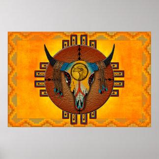 Spirit of the Buffalo Poster