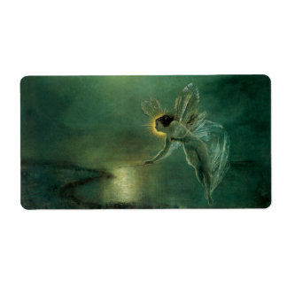 Spirit of the Night by Grimshaw, Victorian Fairy Shipping Label