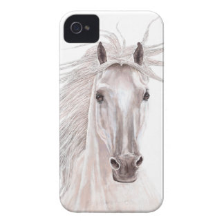 Spirit of the Wind Horse -vintage- iPhone 4 Case