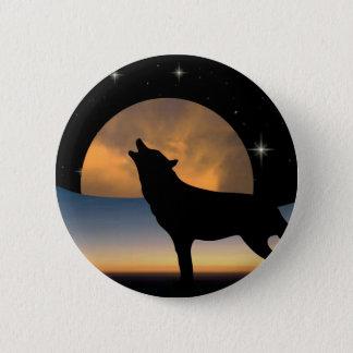 Spirit of the Wolf 2 Inch Round Button