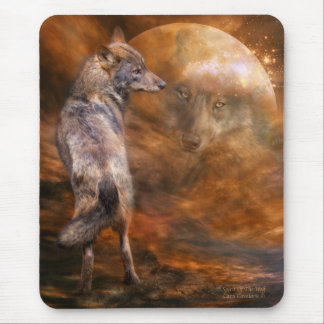 Spirit Of The Wolf Art Mousepad