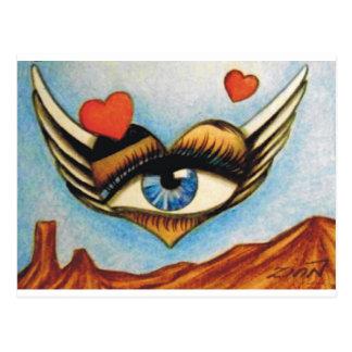 Spirit of Valentines Day Postcard