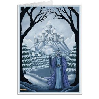 spirit of winter greeting card basic