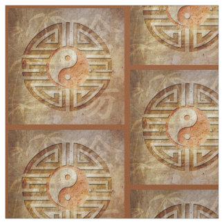 Spirit Of Yin & Yang - Yantra Batik + your ideas Fabric