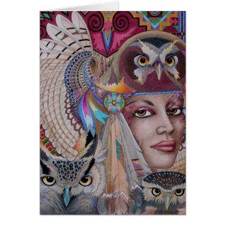 Spirit Owl Card
