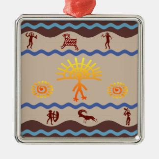 Spirit Path Rock Art Ornament