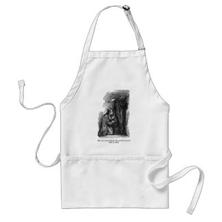 Spirit Pointed (with text) Aprons