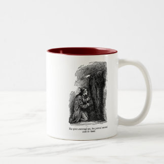 Spirit Pointed (with text) Coffee Mugs