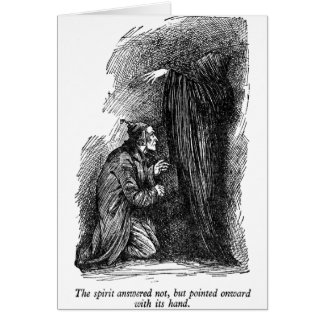 Spirit Pointed (with text) Greeting Card