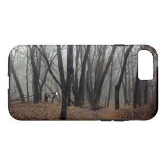 Spirit Pony in Shrouded Wood Phone Case