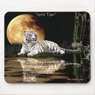 SPIRIT TIGER Big Cat Wildlife Mousepad