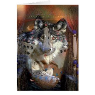 SPIRIT WOLF CARD
