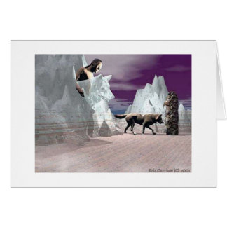 Spirit Wolf Dreamer Card
