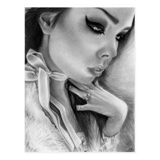Spirited Away Gothic Beauty Postcard