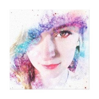 Spirited Eyes Canvas Print