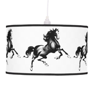 SPIRITED HORSE PENDANT LAMP