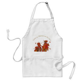 SPIRITS OF CHRISTMAS AND NEW YEAR STANDARD APRON