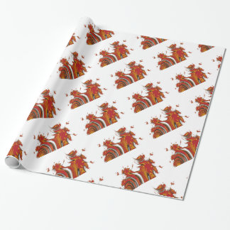 SPIRITS OF CHRISTMAS WRAPPING PAPER