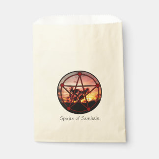 Spirits of Samhain Favour Bag