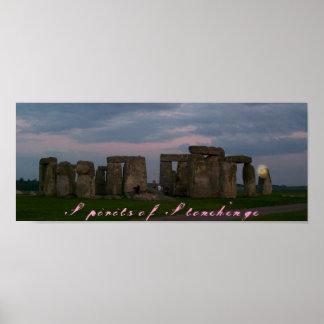 Spirits of Stonehenge Poster