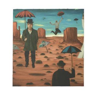 spirits of the flying umbrellas notepad
