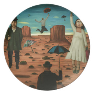 spirits of the flying umbrellas party plates