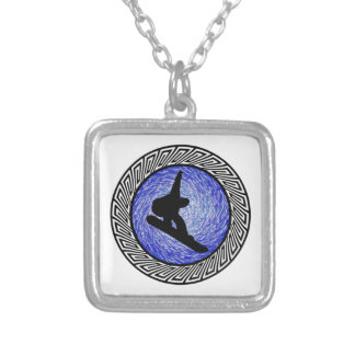 Spiritual Altitude Silver Plated Necklace