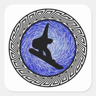 Spiritual Altitude Square Sticker